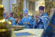 Le 6 novembre 2013, fête de la l'icône de la Vierge « Joie de tous les affligés », le Patriarche Cyrille de Moscou et de toute la Russie a célébré la Divine liturgie à l'église dédiée à cette icône, rue Bolchaïa Ordynka à Moscou.