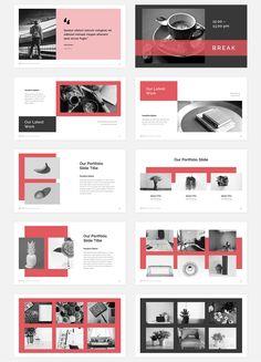 Maeja Presentation on Behance Mise En Page Portfolio, Portfolio Layout, Portfolio Design, Powerpoint Design Templates, Booklet Design, Flyer Template, Layout Design, Design Design, Urban Design