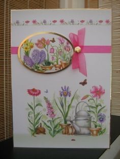 Handmade Card - Beautiful Spring Garden