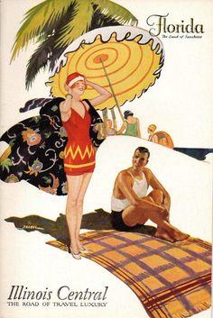 Illinois Central RR Brochure 1930