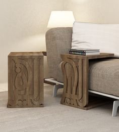 The Home Of Arabic Calligraphy - Spelling Out Dreams - Kashida Wooden Couch, Wooden Table And Chairs, C Table, Hall Furniture, Home Decor Furniture, Modern Furniture, Furniture Design, Middle Eastern Decor, Wood Interior Design