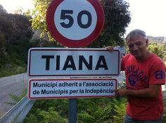Tiana en Barcelona, Cataluña