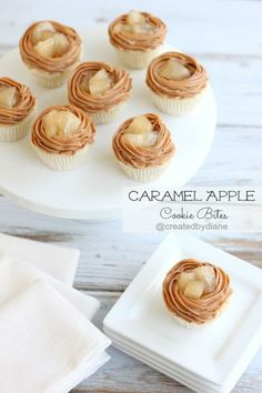 Caramel Apple Cookie Bites @createdbydiane