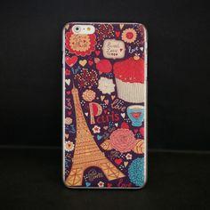 Kumi #Sweet #Love #Paris iPhone 6 #Relief #Slim #Case - Fashion9shop.com