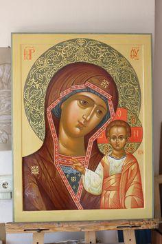 Икона Божьей матери Казанская.