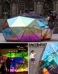 Marco Hemmerling's 'Cityscope' - www.northparkecodistrict.com #glass #art