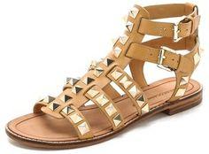 Rebecca Minkoff Sage Studded Gladiator Sandals on shopstyle.com