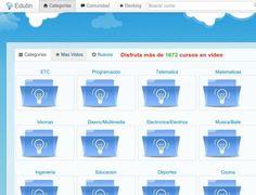 edutin, recopilación de cursos gratuitos en Youtube