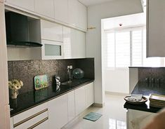Apartment Interior Design Project at Bangalore Apartment Interior Design, Interior Design Kitchen, Kitchen Cabinets, Palette, Behance, Architecture, Gallery, Check, Home Decor