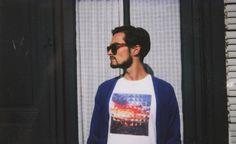 #Kanabeach #men #collection #spring #summer2013 #gilet #bleuelectric #style #Biche #tish #kaléidoscope #sun #sea #Palombe01 #look #boy