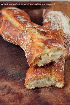 Je suis une quiche en cuisine... mais je me soigne !!: La baguette tradition... presque comme à la boulangerie ^^