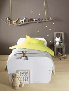 With a kid's spirit, I am writing this post making a superb collection of Inspiring Kids Room Ideas That Will Leave You Speechless. Check out these examples and copy some of the best features that you can incorporate in your kids room. Boy Toddler Bedroom, Kids Bedroom, Bedroom Decor, Girl Room, Baby Room, Cool Wall Decor, Baby Deco, Kids Storage, Toy Storage