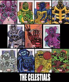 "marvel bronze age John ""JAX"" Jackman sketch card art"