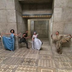 Pin for Later: 22 Behind-the-Scenes Moments on Game of Thrones That Will Change How You See Everyone More Like Game of Yoga