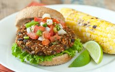 Serve these hearty veggie burgers on whole grain buns with your favorite condiments. A great make-ahead recipe, instructions for freezing and cooking from frozen are included.