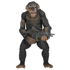 """DAWN OF THE PLANET OF THE APES 7"""" ACTION FIGURE SERIES 2 KOBA 