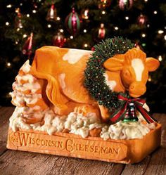 Wisconsin Cheesemen Cow by Sarah The Cheese Lady, via Flickr