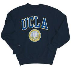 3f0578338c689 UCLA Bruins Puff Seal Crewneck Sweatshirt from Ucla Store