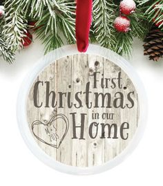 Our First Home Christmas Ornament.37 Best Christmas Ornaments For Our New House Images In 2017