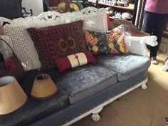 Ask Jude about these awesome couches? HEY JUDES OPEN - both our shops same hours for  best deals, antiques/collectibles and revamps, painted vintage and everything in a ONE STOP SHOP. DEBIT and delivery options 9 - 4 @ HEY JUDES has lots of everything,  HEY JUDES HILLCREST opposite Hillcrest hospital