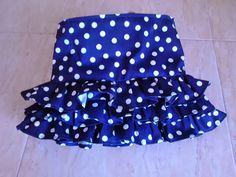 Tutorial para amantes de la costura: Cómo hacer una falda de volantes