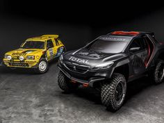 Peugeot Unveil Their Monster Rally Car To Take On The Dakar (shared via SlingPic)