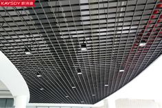 Office Aluminum Open cell ceiling grid panel