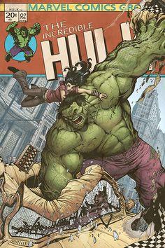 Hulk by Nick Bradshaw
