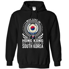 Live in Hong Kong - Made in South Korea