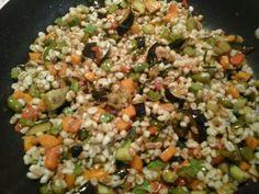 Orzo e farro con verdure