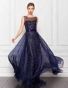 Vestido azul halter mother