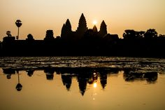 Sunrise at Angkor Wat, Cambodia by András Sipos on 500px