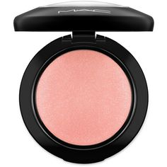 MAC Mineralize Blush ($28) ❤ liked on Polyvore featuring beauty products, makeup, cheek makeup, blush, apparel & accessories, mac cosmetics and mineral blush