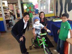 Jorge, 5 años, leucemia linfoblástica aguda. Su deseo más anhelado era tener una bicicleta. #makeawish #DeseoCumplido #WishKid