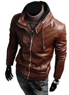 MEN LEATHER JACKET FASHION JACKETS