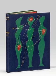 BRETON (André) L'AMOUR FOU Paris, Gallimard, 1937. BINDING: Paul Bonet, 1965