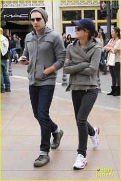 Emma Watson Street Style - I want this sweater jacket!