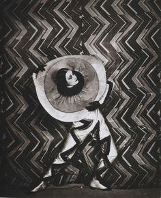 Sonia Delaunay costume and textile design circa 1920