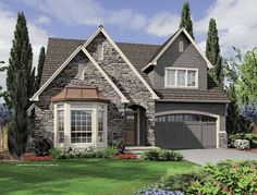 Eplans Cottage House Plan - Three Bedroom Cottage - 2230 Square Feet and 3 Bedrooms from Eplans - House Plan Code HWEPL65930...cute & quaint