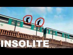 ON SURF SUR LE METRO PARISIEN - INSOLITE - YouTube