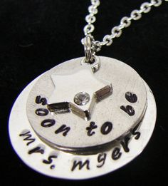 Mrs. Necklace- great wedding shower or bachelorette party present for soon to be brides