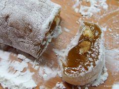 Ρολό λουκούμι Greek Sweets, Greek Desserts, Greek Recipes, Desert Recipes, Turkish Delight, Christmas Desserts, Truffles, Food Art, Deserts