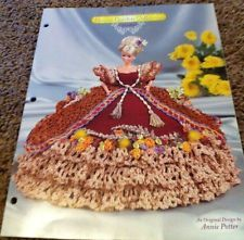 "Annie's Glorious Gowns CROCHET ""CALENDULA"" Flower Garden Collection,Fashion Doll"