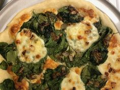 Gluten Free Vegan Pizza, Monterey Jack Cheese, Instant Yeast, Pizza Dough, Caramelized Onions, Mozzarella, Vegetable Pizza, Spinach, Join