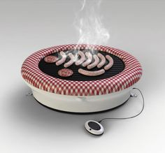 This inflatable grill. | 20 Home Furnishings That Are Borderline Magic