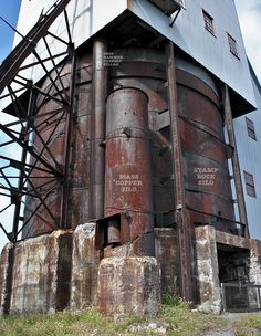 The Rock Silos of the Quincy No.2 Rockhouse