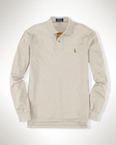 1497e7fbe9ba08 Pima Soft-Touch Polo Shirt - Polo Ralph Lauren Custom-Fit - RalphLauren.com