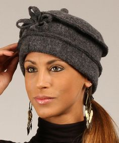 Love this Gray Anna Wool Beret on #zulily by Eva Tralala, $30 !!  #zulilyfinds