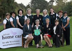 Marjorie McCorduck (President, Irish Ladies Golf Union) and Elizabeth Nicholson (Managing Director, Private Home Care) pictured with the Lee ValleyGolf Club Ladies team winners of the Private Home Care Intermediate Cup at the ILGU All Ireland Inter C Specializing in Start-Up of Personal Care Homes, Adult Day Programs, Non-Medical Personal Care & Medicaid Waiver Programs. - http://www.nbhsllc.com