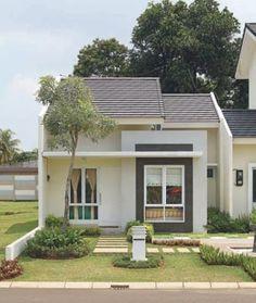 73 Minimalist Home Terrace Ideas with Minimalist Plant Garden (Rumah minimalis) Modern Minimalist House, Modern Tiny House, Small House Design, Modern House Plans, Modern House Design, Modern Homes, Small Modern Home, Minimalist Apartment, Tiny House Exterior